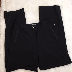 Chico's Zenergy Black Casual Athleisure Pants